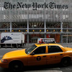 New York Times wants Fox News to apologise for report blaming it for Islamic State leader's escape