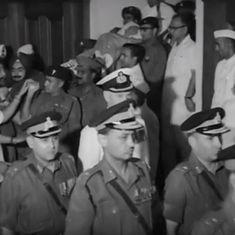 जवाहरलाल नेहरू की अंतिम यात्रा के कुछ दुर्लभ वीडियो