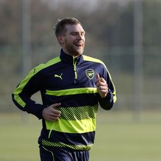 The more people that write me off, the stronger I get, says Arsenal's Per Mertesacker
