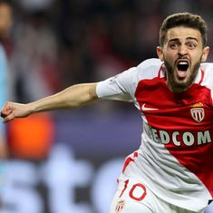 Monaco's Bernardo Silva to join Manchester City in first major signing of the summer