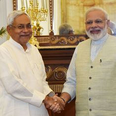 New Bihar Cabinet takes oath, 14 from JD(U), 11 from BJP