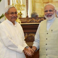 Nitish Kumar meets PM Modi after skipping Opposition leaders' meeting