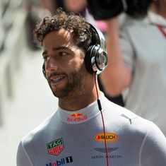 Hope they behave better: Daniel Ricciardo hits out at fans who cheered Lewis Hamilton crash at Spa