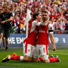 Aaron Ramsey's winner takes beleaguered Arsenal to 2-1 victory over Chelsea in FA Cup final