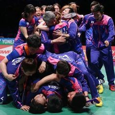 South Korea shock China to lift Sudirman Cup after 14-year wait