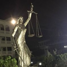 Bangladesh: Controversial Lady Justice statue reinstalled behind Supreme Court after protests