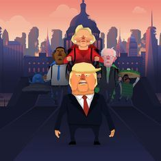 Watch: Jrump, the game about Donald Trump, is eerily close to the real world