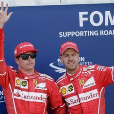 Monaco GP: Ferrari win one-two but team orders divide Sebastian Vettel, Kimi Raikkonen
