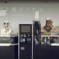 Watch: Take a look inside the world's first hotel run by robots