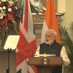 विजय माल्या के प्रत्यर्पण के लिए नरेंद्र मोदी ने ब्रिटिश प्रधानमंत्री टेरेसा मे से मदद मांगी