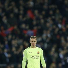 Barcelona goalkeeper Marc-Andre ter Stegen extends stay till 2022