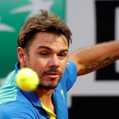 Wawrinka suffers another injury setback, retires against world No 193 in Marseille