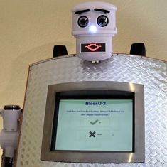 Watch: Meet BlessU-2, the German robot 'reverend' who blesses church-goers in five languages