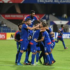 Bengaluru FC through to the next round of AFC Cup as Chhetri nets free-kick