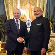 भारत के अलावा कोई नहीं जिसके साथ मिसाइल जैसे क्षेत्र में हमारी इतनी गहरी साझेदारी हो : पुतिन
