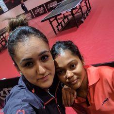 India's Mouma Das and Manika Batra create history at Table Tennis World Championship