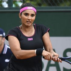 Indian tennis roundup: Sania Mirza advances in China, Ramkumar out of Stockton