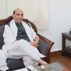 Human shield case: Rajnath Singh says he agrees with Army's innovative ways to fight the 'dirty war'