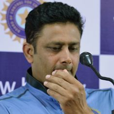 Headmaster tag came back to me later in my career: Anil Kumble
