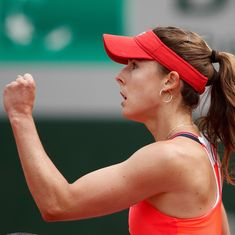 Feuding Frenchwomen Alize Cornet and Caroline Garcia set up last 16 clash at Roland Garros