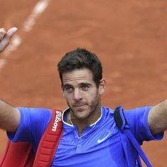French Open: 'Andy Murray is the real No 1,' says Juan Martin del Potro