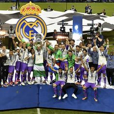 Champions League: Real Madrid pull of stunning 4-1 victory against Juventus