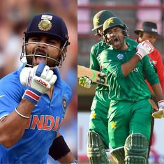 Champions Trophy: All the numbers you need to know ahead of the India-Pakistan final