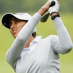 Dubai Open Golf: Aditi Ashok moves up to tied fourth after another impressive round