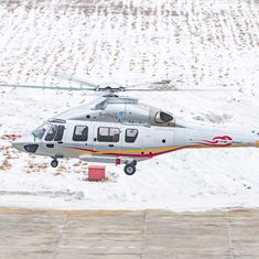 Suspected Chinese helicopter seen flying over Indian airspace, investigation launched