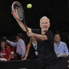 If I trained properly, I believe I could do it: John McEnroe on challenging Serena Williams on court