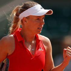 Wozniacki snaps Stephens' run in Toronto to make final, Svitolina routs Halep