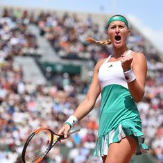 French Open: Kristina Mladenovic has set her sights on the title, but sportsmanship is eluding her