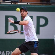 French Open: Emotional Andy Murray sails into quarter-finals with a straight-sets win