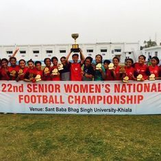 Manipur win senior women's football Nationals for a record 18th time