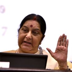 Indians missing in Iraq since 2014 are probably in a jail in Badush, says Sushma Swaraj