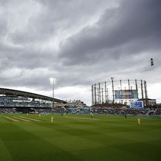The damp, soggy English weather is turning the Champions Trophy into a farce
