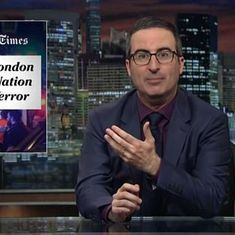 Watch: John Oliver blasts American media for its 'insulting' coverage of London attacks