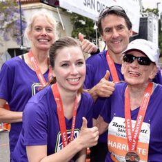 94-year-old Harriette Thompson becomes oldest woman to run a half-marathon