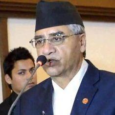 तीन उप-प्रधानमंत्रियों के साथ नेपाल के नए प्रधानमंत्री शेर बहादुर देउबा ने कमान संभाल ली है