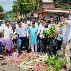 मध्य प्रदेश में किसान तीन दिन की हड़ताल पर