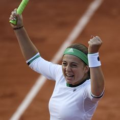 French Open, Day 10 highlights: Ostapenko's dancing, rain delays and more
