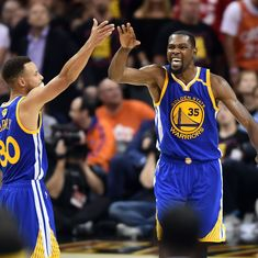NBA Finals: Durant's heroics power Golden State Warriors to 118-113 win over Cleveland Cavaliers