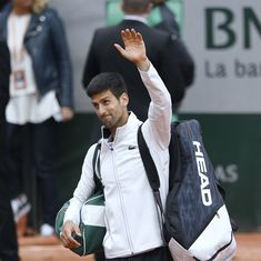 Tank? Or personal problems? Twitter speculates over Novak Djokovic's slump