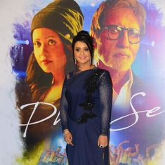 Watch Amitabh Bachchan add star power to Maharashtra CM's wife Amruta Fadnavis's music video