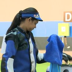 Meghana Sajjanar, Pooja Ghatkar narrowly miss out on medal in women's 10m rifle event