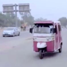 Watch: Lahore's first female rickshaw driver has surprised everyone