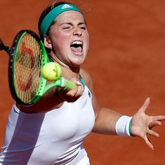 French Open: Unseeded Jelena Ostapenko becomes Latvia's first Grand Slam finalist