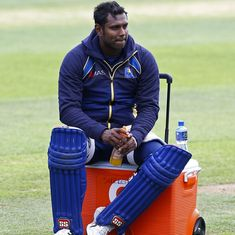 Angelo Mathews sustains hamstring injury, ruled out of Bangladesh tour