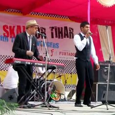Watch Indian reggae band Ska Vengers perform live at Tihar Jail