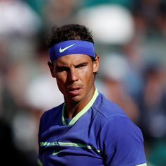 World No 1 Rafael Nadal withdraws from Paris Masters with knee injury